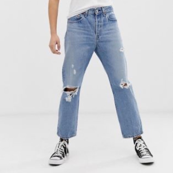 Levi's Ripped 501